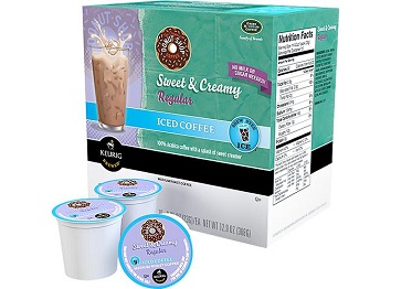 Keurig Donut Shop Sweet & Creamy Iced Coffee K-Cups (16-Pack)