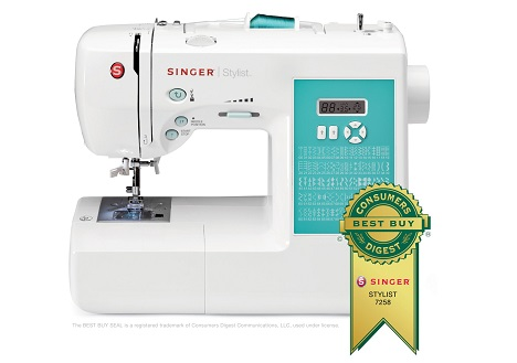 Singer Electronic 100-Stitch Stylist Sewing Machine