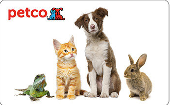 $10 PETCO Gift Cards