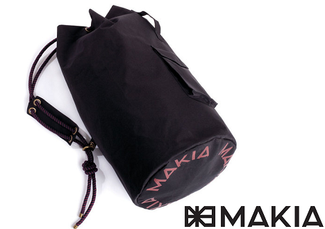 Makia Large Sailor Bag in Black