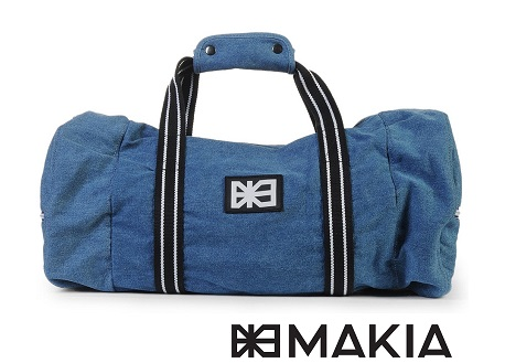 Makia Duffle Bag - Denim
