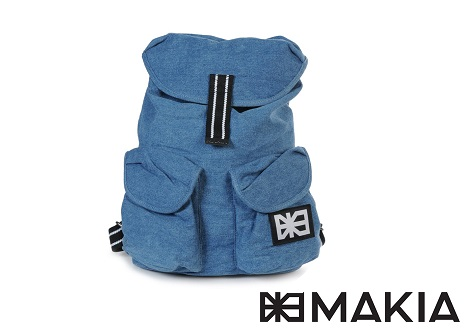 Makia Denim Backpack