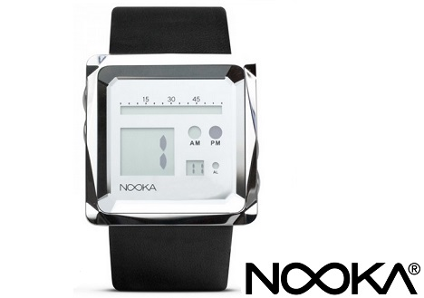 NOOKA Zem Zoo Mirror Leather Watch
