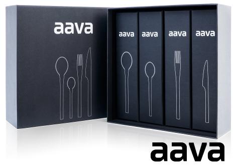 Aava 24-Piece Flatware Set