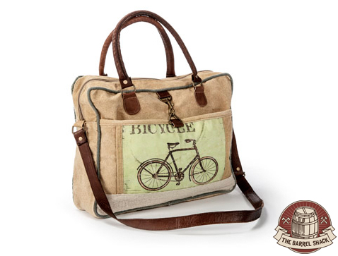 The Barrel Shack™ - The Trevor - Handmade Messenger Bag