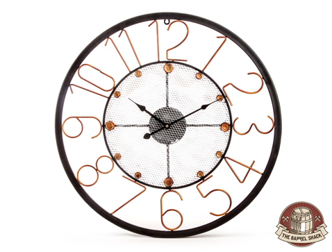 The Barrel Shack™ - Josephine - Handmade 24-Inch Clock