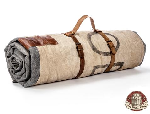The Barrel Shack™ - The Luke - Handmade Duvet With Leather Strap