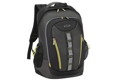 Solo Storm Backpack Laptop Case, Black/Green