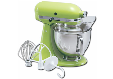 KitchenAid Artisan Stand Mixer, Apple Green
