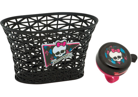 Bell Sports Monster High Basket and Bell