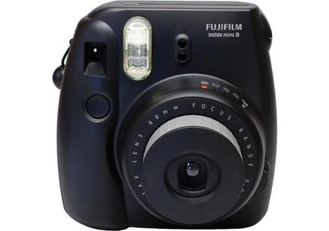 Fuji Instax Mini 8 Camera - Black