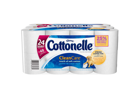 Cottonelle Clean Care Toilet Paper Double Rolls