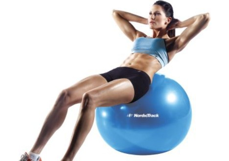 NordicTrack 65 cm Exercise Ball (Blue)