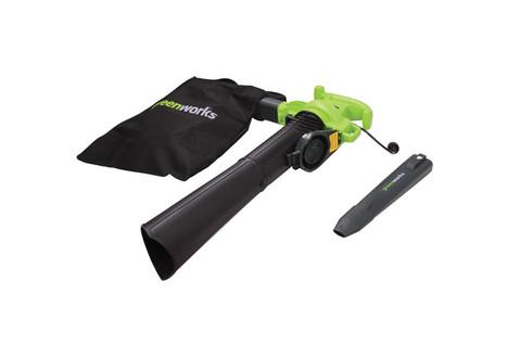Greenworks 12 amp Electric Leaf Blower/Vac