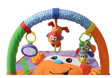 Infantino Merry Monkey Floor Gym Explore and Store