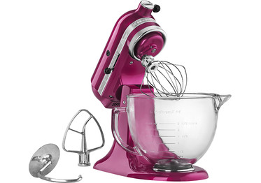 KitchenAid Tilt-Head Stand Mixer Raspberry Ice