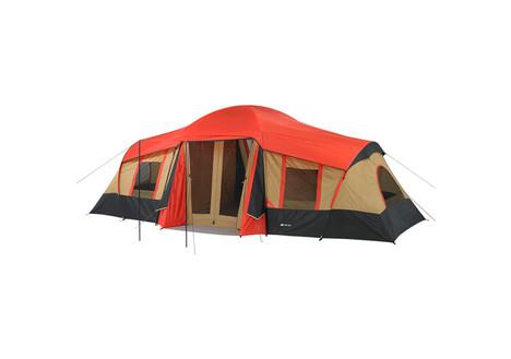 Ozark Trail 10-Person 3-Room Cabin Tent w/ Front Porch