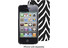 Macbeth Hard Shell Case for iPhone 4/4S (Black Zebra)