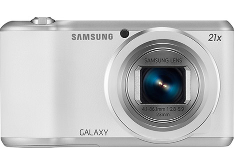 Samsung Galaxy 2 16.3-Megapixel Digital Camera, White