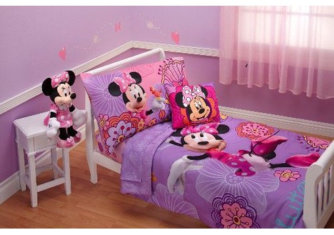 Disney Minnie's Fluttery Friends 4 Piece Toddler Set