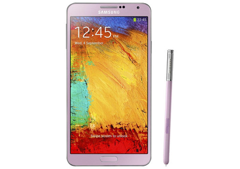 Samsung Galaxy Note 3 Mobile Phone (Unlocked)*, Pink