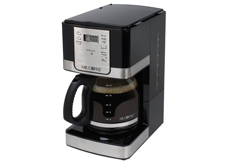 Mr.Coffee 12-Cup Coffee Maker,Stainless Steel/Black