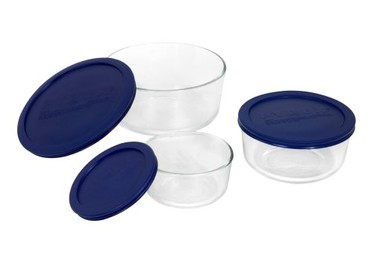 Pyrex Storage 6-Piece Round Set