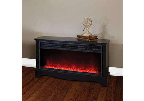 Lifesource 20-inch Tall Heater Fireplace