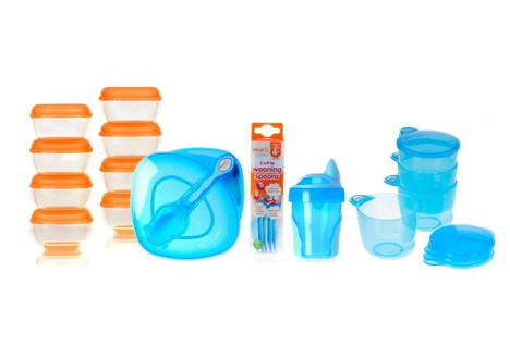 Vital Baby Weaning Kit, Baby Boy