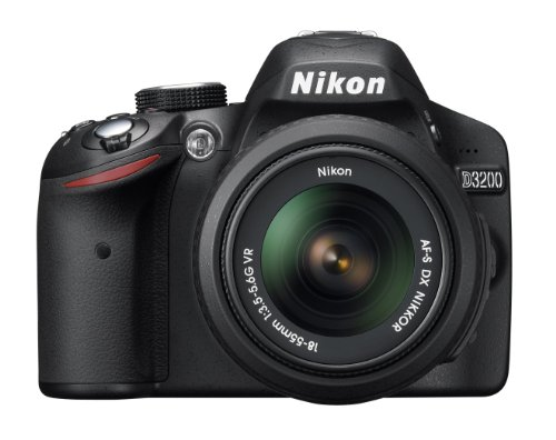 Nikon D3200 24.2 MP CMOS DSLR with Lens