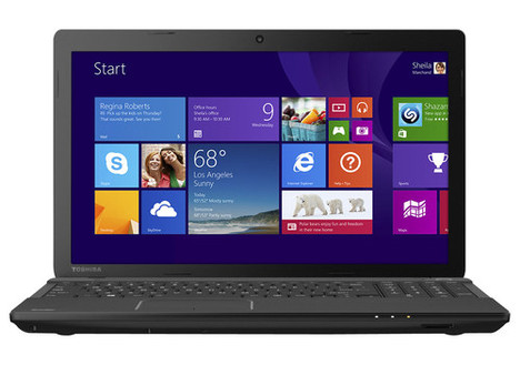 Toshiba Satellite 15.6-inch Laptop with 4GB Memory