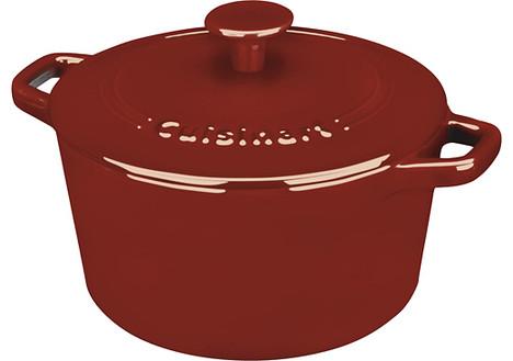 Cuisinart Chef's Classic 3-Quart Casserole Dish, Cardinal Red