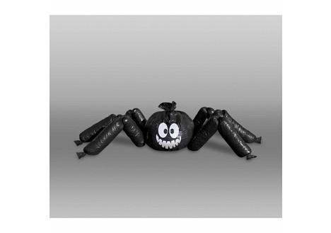 Jumbo Spider Lawn Bag Halloween Prop