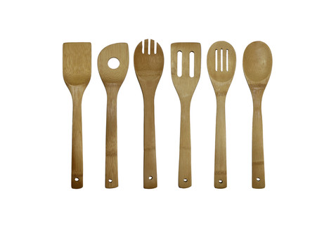 Oceanstar 6 Piece Bamboo Cooking Utensil Set