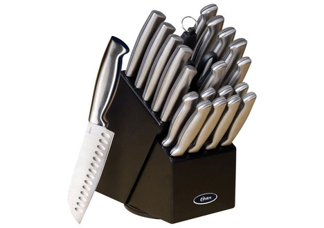 Oster Baldwyn 22-Piece Knife Set, Stainless-Steel