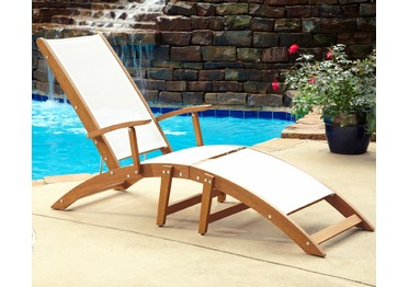 Dealdash bali hai chaise lounge chair by home styles for Bali chaise lounge