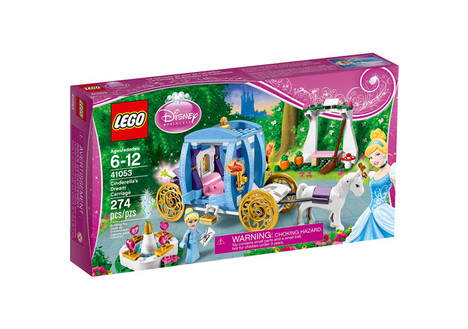 LEGO Disney Princess Cinderella's Dream Carriage Building Set