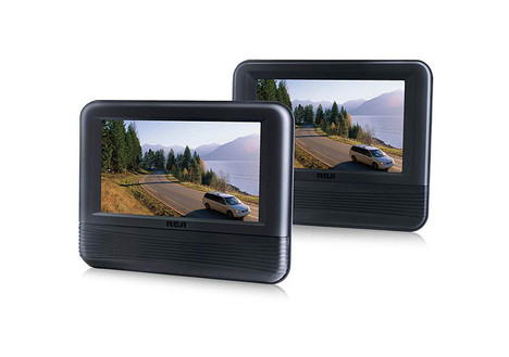 RCA 7-Inch Dual Screen DVD Player