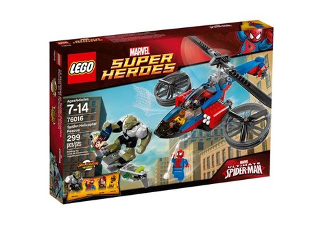 LEGO Super Heroes Spider-Helicopter Rescue Play Set