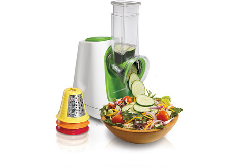 Hamilton Beach 70950 SaladXpress Counter-top Food Processor Electric w/Cones