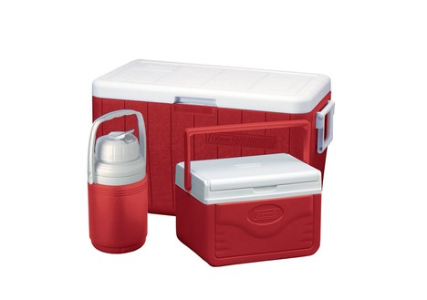 Coleman Cooler Combo, Red