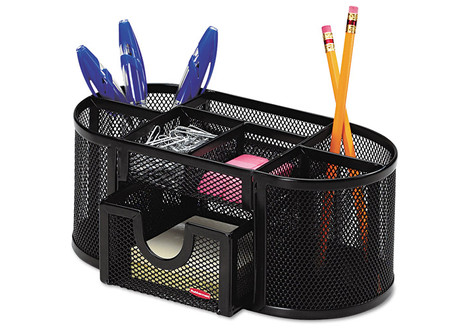 Rolodex Mesh Pencil Cup Organizer with 4 Compartments