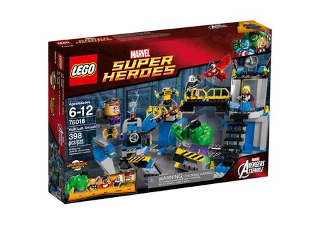 LEGO Super Heroes Hulk Lab Smash Play Set