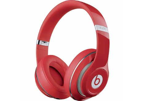 Beats By Dr. Dre New Beats Studio Over Ear Headphones, Red