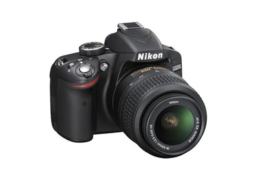 Nikon D3200 DSLR Camera Kit, Black